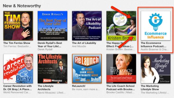 Ecommerce Influence Podcast itunes